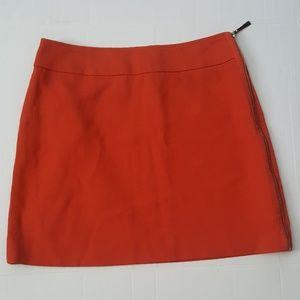 💟Ann Taylor Mini Skirt ~ Cute Full Side Zipper 💟